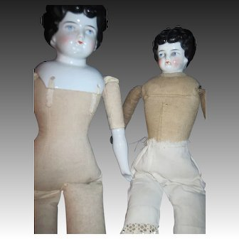 2 Low Brow Cina Dolls Free P&I US Buyers