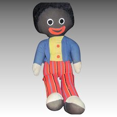 "Large 21"" Chad Valley Golliwog doll Free P&I US Buyers"