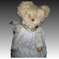 "Sweet 12"" Jointed Mohair Teddy Bear Free P&I US Buyers"