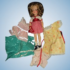 """Ideal 12"""" ST Shirley Temple w/nice outfits Free P&I US Buyers!"""