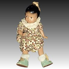 Rare Effanbee Brown Patsyette doll Free P&I US Buyer