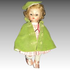 "8"" Madame Alexander Wendy Kins bkw doll Free P&I US Buyers"
