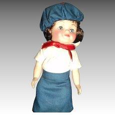 "8"" Rffanbee Campfire Girl Doll Free P&I US Buyers"