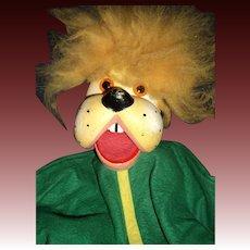 "Rare 18"" Pelham Puppy Hand Puppet free P&I US Buyers"