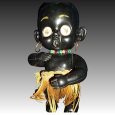 Big EYE Flashing Eye Native Doll Free P&I US Buyer