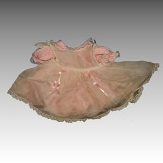 Vintage Madame Alexander Toddler doll Dress w.apron Free P&I US Buyers