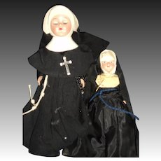 2 lovely NUN DOLLS Free P&I US Buyers