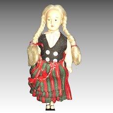 "10"" Vintage Finnish doll Free P&I US Buyers"