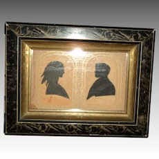 Lovely Victorian Silhouette Free P&I US Buyers