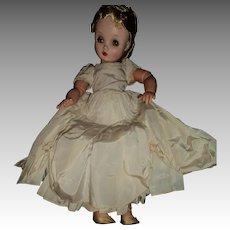 "24"" Madame Alexander Wendy Bride doll Free P&I US Buyer"
