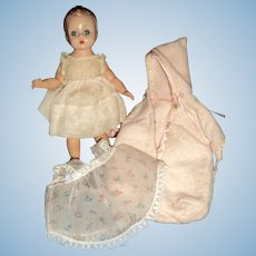 Vintage Madame Alexander Baby Wendy-kins w.clothes Free P&I US Buyers