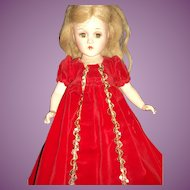 "1941 Rare 14"" Madame Alexander Compo Sleeping Beauty Doll Free P&I US BUyers"