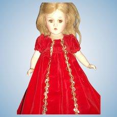 "1941 Rare 14"" Madame Alexander Compo Sleeping Beauty Doll Free P&I US BUyers"