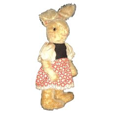 Magnificent Mohair Bunny Rabbit Doll Free p&i US Buyers