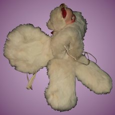 Adorable  2 face teddy & doll muff,hat,mittens Free P&I US Buyers
