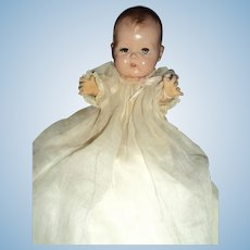 Lovely America Character baby doll in original Christening dress Free P&I US US Buyers