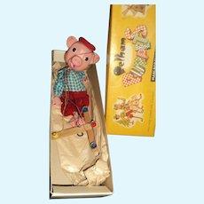 Pelham Puppet Marionette England Pinky Dalibor Free P&I US Buyers