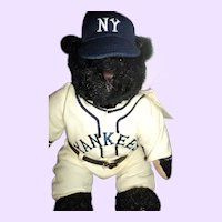 Yankee Cooperstown Bear limited ed  Free P&I US Buyers