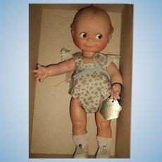 Adorable Minty Cameo Kewpie Doll w/box Free P&I US Buyers
