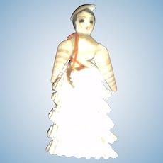 Awesome miniature shell doll Free P&I US Buyers