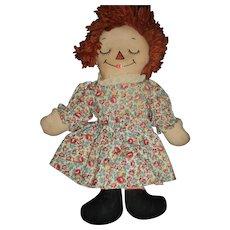 Wideawake Georgene Raggedy Ann Doll Free P&I US buyers!