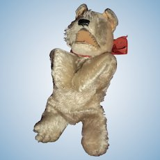 "Fantastic Find Steiff 14"" Terrier Full Body Arm Puppet Free P&I US Buyers"