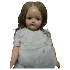 """26"""" Effanbee Composition Rosemary doll Free P&I US Buyers"""