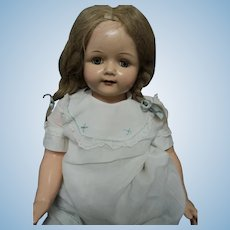 "26"" Effanbee Composition Rosemary doll Free P&I US Buyers"