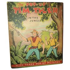 Outstanding Tim Tyler Pop UP Book  In the Jungle Free P&I US Buyers