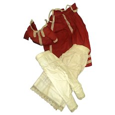 Spectacular outfit for your bisque or China doll Free P&I US Buyers