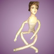 Vintage Deco Style Boudoir Doll Free P&I US Buyers