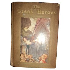 The Greek Heroes illus by Arthur Rackham Free P&I US Buyers