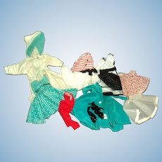 Nice assortment of Doll clothes for Little Miss Revlon Free P&I US Buyers