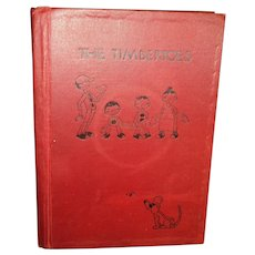 First Ed Autograph Illus The Timbertoes Aldredge & McKee Gee Ilus Ohio pub Free p&I US Buyers