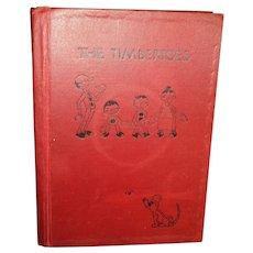 First Ed Autograph Illus The Timbertoes Aldredge & McKee Gee Ilus Ohio pub Free p&I US Buyers