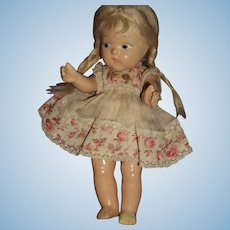 Pigtails Compo Vogue Ginny Doll Tagged Outfit Free P&I U S Buyers