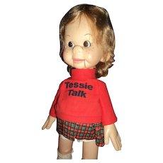 Tessie Talk Puppet Ventriloquist Dummy/puppet Free P&I US Buyers!