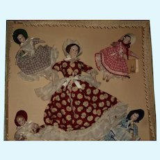 Ruth Gibbs MIB China Little Women MIB dolls Free P&I US Buyers