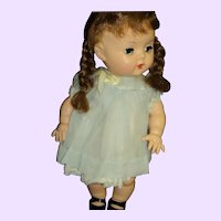 Littlest Angel Doll Pigtails (not Marked) Free P&I US buyers!