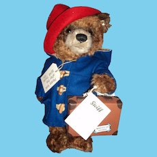 Steiff Collectors Paddington Bear no. 1254 Free P&I US buyers