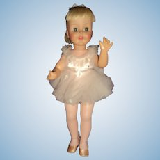 HTF Madame Alexander 1962 Melinda Ballerina Doll Free p&i US Buyers