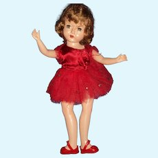 "14"" Hard Plastic Redhead Ballerina free p&i US Buyers"
