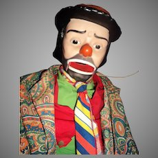 Juno Ventriloquist Clown Doll Free P&I US buyers