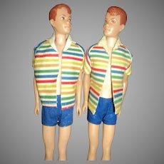 Two Allan dolls Barbie & Kens firend Free P&I US Buyers