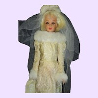 Twist N Turn bk Mod Francie Platinum Bride Doll Free P&I US Buyers