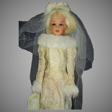 Twist N Turn bk Mod Francie Platinum Bride Doll Free P&I US Buyers