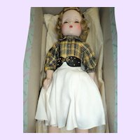 "Lovely Madame Alexander 18"" Maggie Walker doll w/ box Free p&i US buyers"