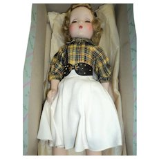 """Lovely Madame Alexander 18"""" Maggie Walker doll w/ box Free p&i US buyers"""