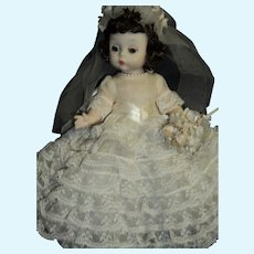 Unusual Wendy Kins Alexander Bride doll Free P&I US Buyer