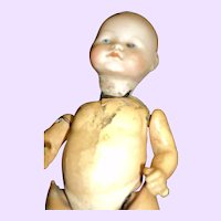 """8"""" A Bisque German Wobble head Project Doll Free P&I US Buyers"""